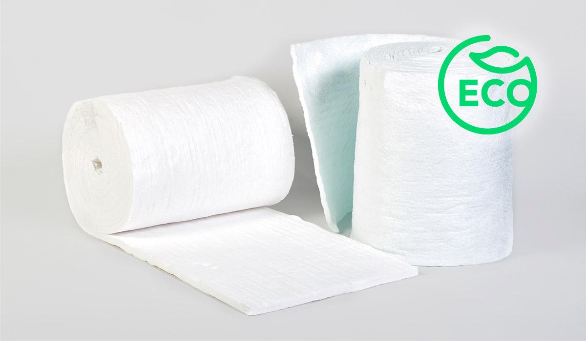 Manta de fibra solúvel