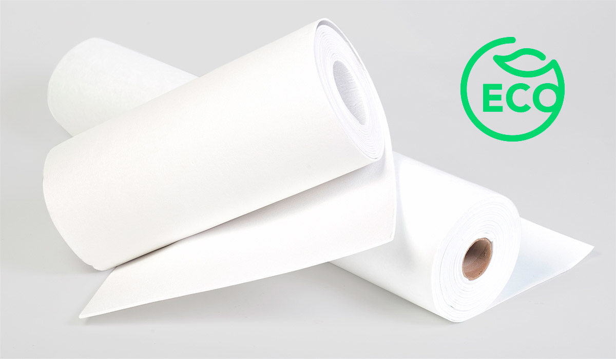 Papel de fibra soluble