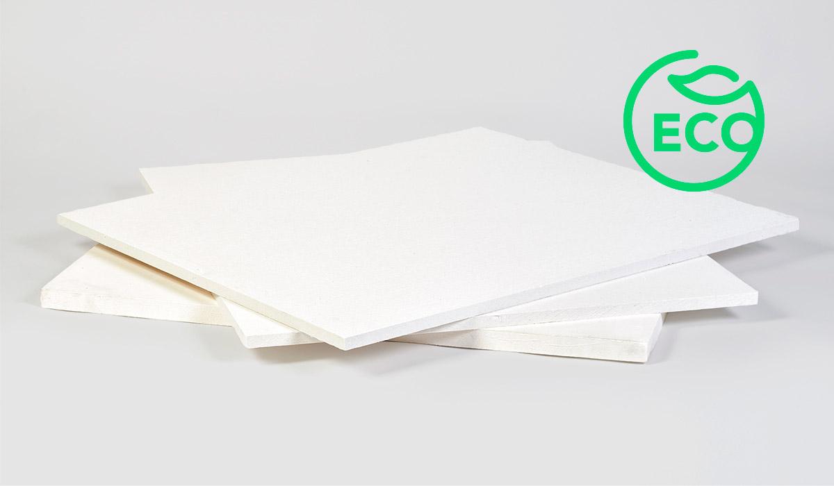 Placas de fibra soluble